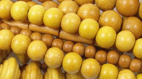 Nangka Wood Beads