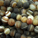 Brown Striped Agate