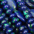 Lapis with Malachite