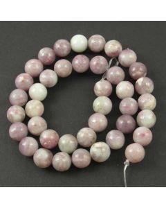 Lavender/Grey Jasper 10mm Round Beads