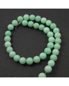 Jade (Amazonite) Dyed 10mm Round Beads