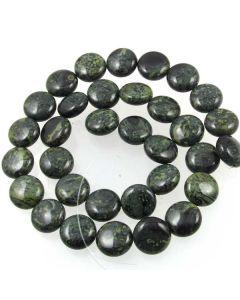 Kambaba Jasper 12mm Coin Beads