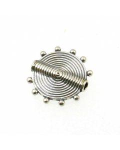 Bali Bead 14x3mm Disc B01