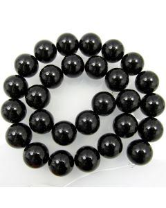 Black Onyx Beads 14mm Round Beads