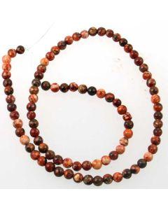 Leopardskin Jasper 4mm beads