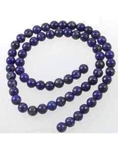 Lapis Lazuli Natural 6mm Round Beads