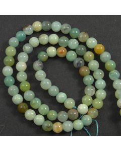 Chinese Amazonite (Multi-colour) 6mm Round Beads