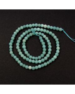 Chinese Amazonite 4mm Round Beads
