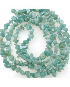 Chinese Amazonite 5x8mm Chip Beads