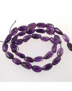 Amethyst 7x11mm approx. Nugget Beads