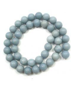 Angelite 10mm Round Beads