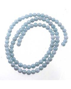 Angelite 4mm Round Beads