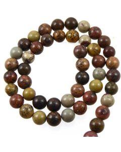 Apache Jasper Grey 8mm beads