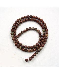 Apache Jasper 4mm Round Beads