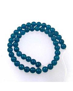 Malay Jade (Dyed Apatite Blue Quartzite) 8mm Round Beads