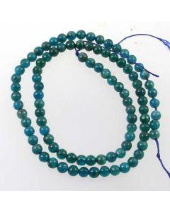 Apatite 4mm Round Beads