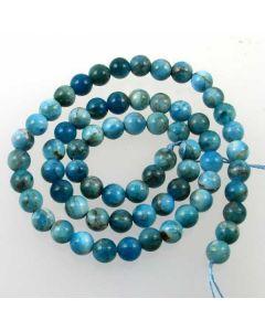 Apatite 6mm Round Beads