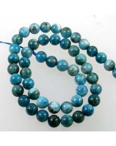 Apatite 8mm Round Beads