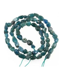 Apatite 5-7mm Approx Nugget beads