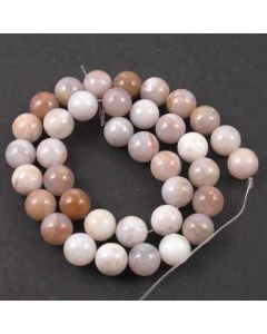 Natural Australian Agate 10.5mm Round Beads