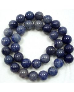 Blue Aventurine 12mm Round Beads
