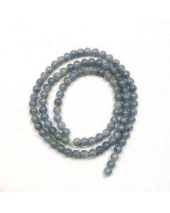 Blue Aventurine 4mm Round Beads