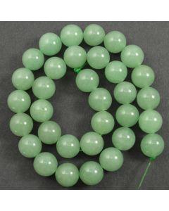 Green Aventurine 12mm Round Beads