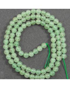 Green Aventurine 4mm Round Beads