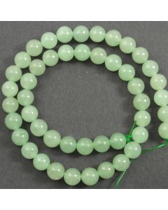 Green Aventurine 8mm Round Beads