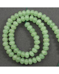 Green Aventurine 5.5x9mm Rondelle Beads