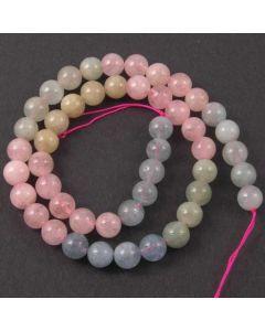 Beryl (multi stone) 8mm Round Beads