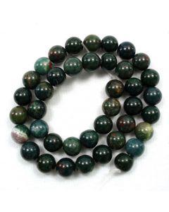 Bloodstone 10mm Round Beads