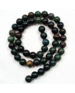 Bloodstone 8mm Round Beads