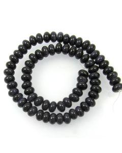 Blue Goldstone Rondelle Beads