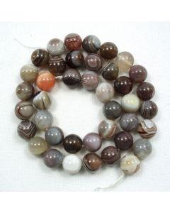 Botswana Agate 10mm Round Beads