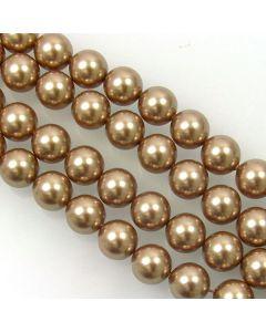Swarovski® Crystal Pearls 10mm Bronze - Pack of Ten
