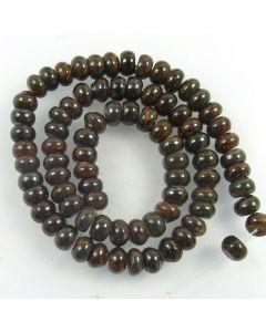 Bronzite 5x8mm Rondelle Beads