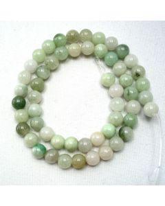 Jade 7.5mm Round Beads