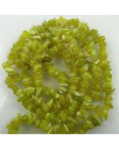 Butter Jade 5x8mm Chip Beads