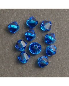 Swarvoski Bicone Xillion Cut Beads