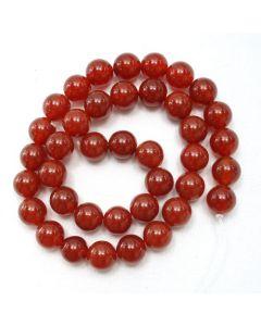 Carnelian 10mm Round Beads