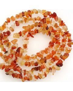 Carnelian 5x8mm Chip Beads