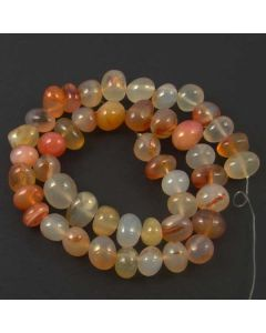 Carnelian (Natural) 8x10mm approx. Nugget Beads