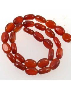 Carnelian 12x14mm Oval Beads