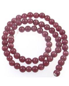 Cats Eye Beads - 5.5mm Purple