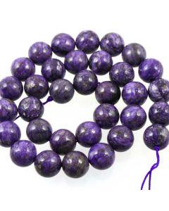 Charoite 12mm Beads