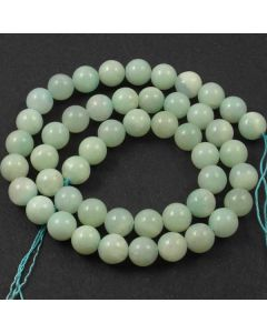 Chinese Amazonite 8mm Round Beads