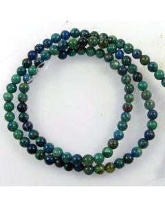 Chrysocolla 4mm Round Beads