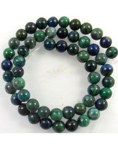 Chrysocolla 8mm Round Beads