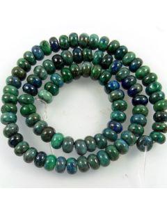Chrysocolla 5x8mm Rondelle Beads